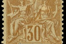 French India Stamps