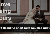 Cute Couple Quotes & Sayings