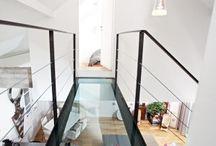 Mezzanine - Escaliers