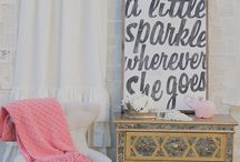 Baby Nursery / Baby Girl Nursery Ideas / by Shalene Oropeza