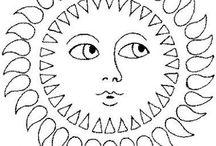 Lune / Soleil / Etoile