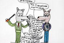 Lazy Wolf Comics 2015 / by Alex Comics