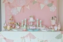 Festa chá de bonecas