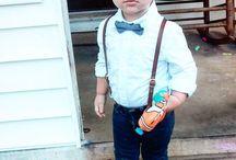 Wedding toddler boy