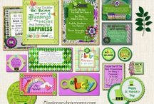 'St. Patrick's Day' Missionary Care Package Kit / A Fabulous place to find Fun & Spiritual Care Package Ideas and Instant Downloads to send your Missionary! Easy & Helpful How to's including shopping lists and links.