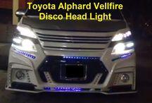 Modified Toyota Alphard Vellfire