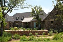 Parker County Ranch Design Ideas / This ranch in Parker County, completed in 2011, reflects the clients' love of Provence, France and French country living, as well as their Texas roots. The sustainability of the construction is enhanced by the owners' efforts to collect all of the stone used on the home from the site itself: 200 tons!