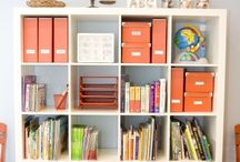 Organizar material