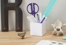 Office Essentials / Office inspiration from products to desk-envy. Let's get organized!
