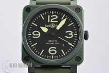 BIGMOON Bell&Ross Watches / A board of our newest arrivals of pre-owned Bell&Ross watches.
