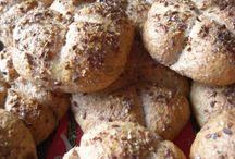 Recepty chleba a pečivo