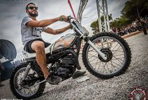 bratstyle flattrack caferacer vintage motorcycles trashdog / trash dog