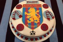 Football and rugby cakes/Aston Villa Cakes