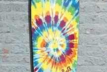 longboards and skateboards