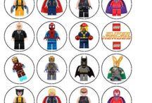 Lego superhero party