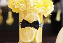 Deco citron de table