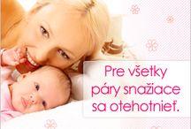 Bannery pre www.otehotnenie.sk / Portál zameraný na neinvazívnu liečbu neplodnosti a problémy s otehotnením.
