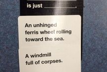 Cards against humanity awesomeness