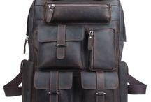 Vintage Leather Rucksacks