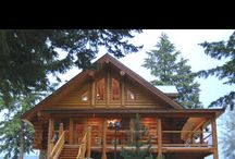 Log Cabin / by Catherine MacDougall
