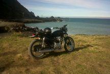 W650 / Sunday ride. Ngawi. NZ.