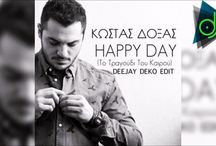 New promo song... Κώστας Δόξας - Happy Day (Deejay Deko Edit)