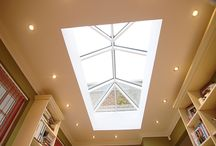 ROOF LIGHTS / As more people look to extend rather than move people have been looking for elegant natural lighting solutions. Roof lanterns work with both traditional and contemporary designs and really does bring the outside in.  See more at http://www.tvwindows.com/living-spaces/roof-lanterns