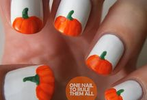 Halloween nails / by Tina D'Arco