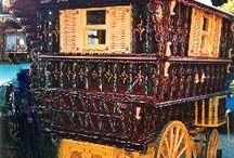 Gypsy Travellor / Building my own gypsy caravan for business Spirit of Serendipity / by Kimberly Robertson