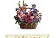 Get Well Flowers / Flowers are just the right medicine when someone you know isn't feeling great.  #GiveFlowers to soothe, comfort, and cheer up friends and loved ones all year round.