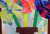 2nd Grade Projects / Second grade Art lesson ideas.