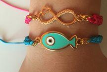 Handmade by me / Macrame bracelets