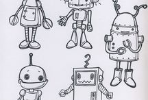 Robots - arts & crafts