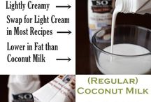 Coconut milk / recipes
