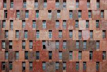 social housing facades