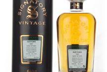 Dufftown single malt scotch whisky / Dufftown single malt scotch whisky