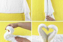 Handtücher falten ‼️