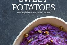 Purple Sweet Potatoes / by byDevan.com