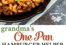 DIY FOOD STUFFS FOR MONTHLY MENUS