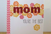 """""""Mother's Day Cards"""" I made"""
