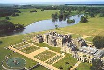 England - Holkham Hall Norfolk