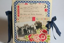 SCRAPBOOKING ALBUMS / Regular, altered and hybrid scrapbook albums / by Christina Nilsson
