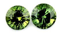 Green Sapphire Collection / An Incredible Collection of Natural Green Sapphires, www.SapphireBazaar.com/Collections/all/green-sapphire