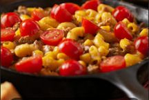 Recipes-ground meat
