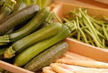Grønnsaker, frukt, bær og urter