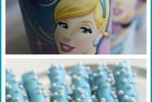 Cinderella Party Ideas / See awesome Cinderella girl birthday party ideas including Cinderella cakes, cupcakes, party decorations, party favors, dessert tables, costumes. Perfect for a princess!