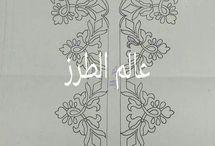 dibujos decorativos tejidos