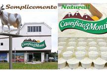 Caseificio 3 Monti / I nostri prodotti fatti con l'amore e la passione, con la genuinità e la naturalezza del latte, del caglio vegetale e del sale!