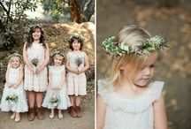 fairytale wedding flower girls