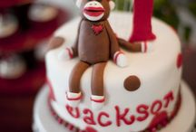 sock monkey party / by Brittany Parson